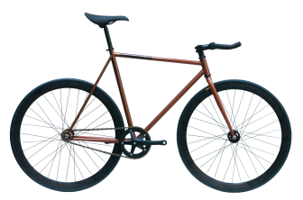 ピストバイク 完成車 CARTEL BIKES  AVENUE LO BROWN PISTBIKE