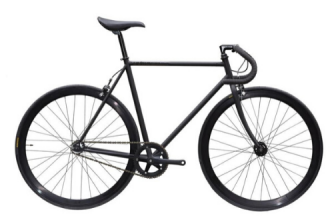 ピストバイク 完成車 CARTEL BIKES AVENUE MATTE BLACK PISTBIKE