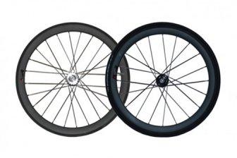 ピストバイク ハンドル Diner Carbon 50mm F & R Clincher Wheel Set