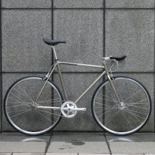 ピストバイク 完成車 CARTEL BIKES  AVENUE LO CHROME PISTBIKE