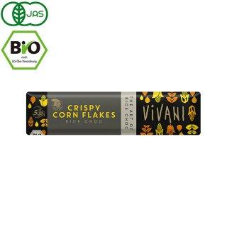 VIVANI ( ヴィヴァーニ ) オーガニックチョコレートバー クリスピーコーンフレーク 35g(ヴィーガン対応)