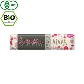 VIVANI ( ヴィヴァーニ ) オーガニックチョコレートバー ストロベリーワッフル 35g(ヴィーガン対応)