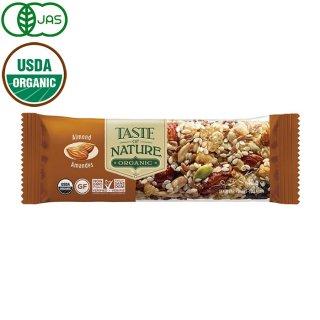 Taste of Nature オーガニックフルーツ&ナッツバー アーモンド