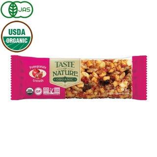 Taste of Nature オーガニックフルーツ&ナッツバー ザクロ