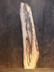 黒柿 孔雀杢 一枚板 無垢