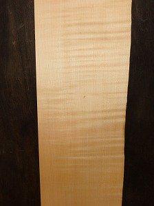楓 メープル 一枚板 縮み杢 ニッチカウンター 天板  無垢