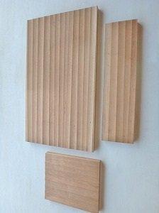 アメリカンブラックチェリー 一枚板 加工板セット 端材