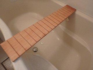 台湾桧 風呂渡し板 無垢 一枚板 2枚セット