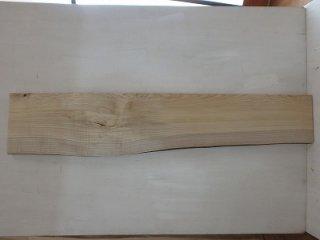 栓の杢板 片耳付き 一枚板 木材
