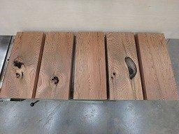 霧島杉 平角 台 無垢 木材 5個セット