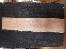 ブラックチェリー 一枚板 片耳 天板