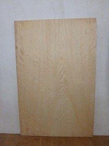 桧 巾広 薄板 無節 一枚板