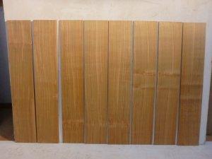 山桜 薄板 8枚セット