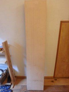 天然桧 柾 無節 貴重品 厚板 一枚板