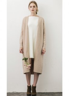 MOHAIR KNIT GOWN