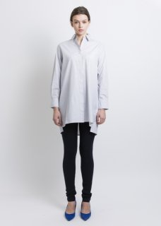 COTTON LONG STRIPE SHIRT