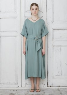 RAYON LONG DRESS