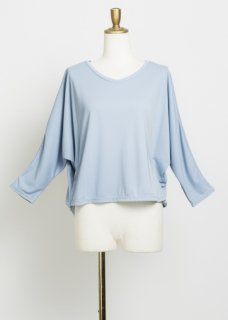 DOLMAN SLV GATHER TOP