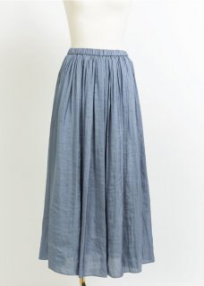 MATTE SATIN PLEAT SKIRT