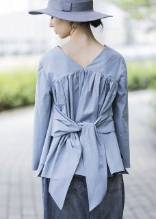 BACK RIBBON SHIRT