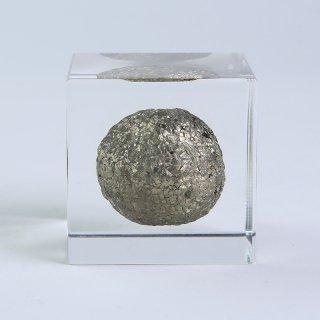 黄鉄鉱(球体)キューブ