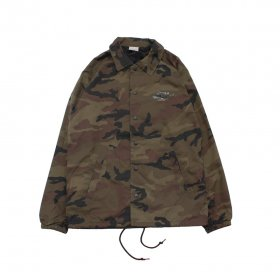 W-BASE WING LOGO COACH JKT CAMO