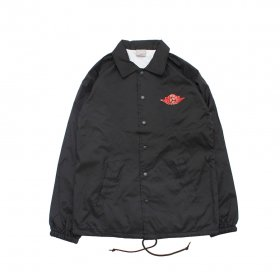 W-BASE WING LOGO COACH JKT BLACK