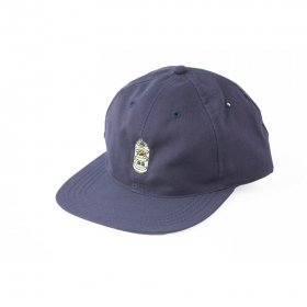 W-BASE BEER DUDE 6PANNEL CAP NAVY