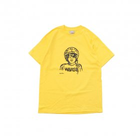 W-BASE RACER T-SHIRTS YELLOW