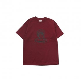 W-BASE RACER T-SHIRTS BURGUNDY