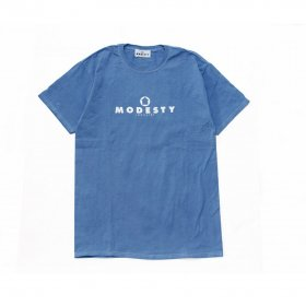 MODESTY INDUSTRY Over Dye TEE BLUE
