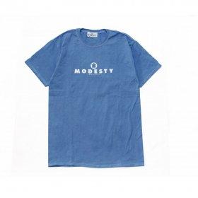 MODESTY INDUSTRY Over Dye TEE BLUE