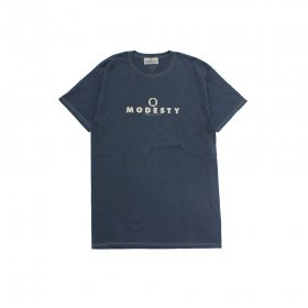 MODESTY INDUSTRY Over Dye TEE DARK GREY