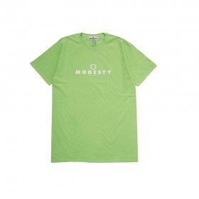 MODESTY INDUSTRY Over Dye TEE GREEN APPLE