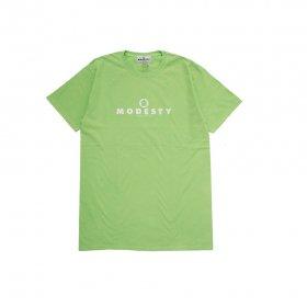 MODESTY INDUSTRY Over Dye TEE GREEN APPLE