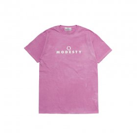 MODESTY INDUSTRY Over Dye TEE ROSE PINK
