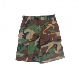 W-BASE WARMY BDU SHORTS WOODLAND CAMO