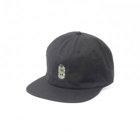 W-BASE BEER DUDE 6PANNEL CAP 2.0 BLACK