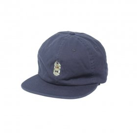 W-BASE BEER DUDE 6PANNEL CAP 2.0 NAVY