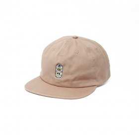 W-BASE BEER DUDE 6PANNEL CAP 2.0 BEIGE