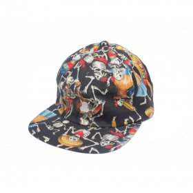 T19 x CHANNEL CAP CO 6 PANNEL CAP  SKULLS