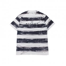 MODESTY INDUSTRY  HAND DYE BORDER TEE