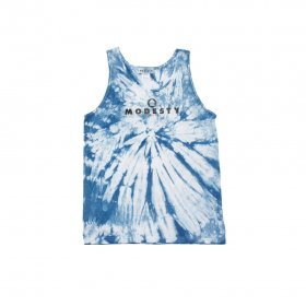 MODESTY INDUSTRY TIE DYE TANK TOP