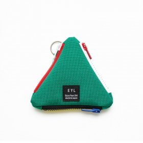 EYL - COIN CASE - KELTY GREEN