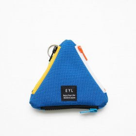 EYL - COIN CASE - NYLON ROYAL BLUE