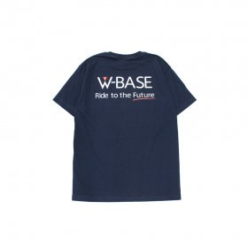 W-BASE SOUND POCKET TEE NAVY