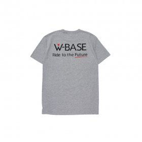 W-BASE SOUND POCKET TEE GREY