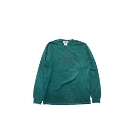 MODESTY INDUSTRY OVER DYE LONG SLEEVE TEE GREEN