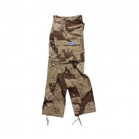 W-BASE CONVOY PATCH BDU PANTS DESERT CAMO