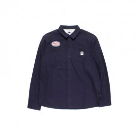 PANCAKE WORK SHIRT NAVY